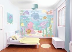 Dětská 3D tapeta na zeď Baby moře
