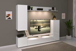 Moderná obývacia stena LIA - biela