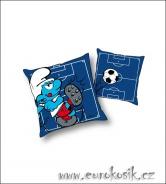 Detský vankúšik Šmolko modrý