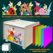 Box na hračky s víkem - vyber si obrázek