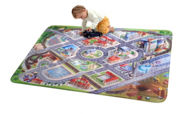 Detský koberec 3D ultra soft letisko - 130 x 180 cm