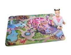 Detský koberec 3D ultra soft Zámok - Koberec 3D ultra soft Zámok
