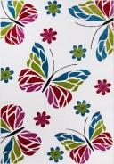 Detský kusový koberec Kids 410 white
