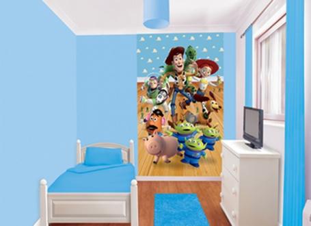 Dětská tapeta na zeď 6-dilná - Toy story