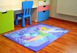 Detský koberec Fairies - Tink Tropical