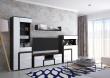 Moderná obývacia stena MARSEL - biela
