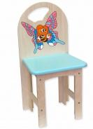 Dětská židlička Motýl slečna