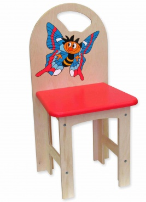 Dětská židlička Motýl kluk