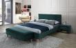 Nočný stolík Azurro VELVET - zelená
