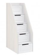 Schody k poschodové posteli PRAGA KIDS NT-721 - jaseň / biela