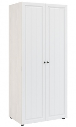 Šatník PRAGA KIDS WK-722 - jaseň / biela