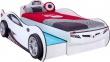 Detská posteľ auto SUPER s prístelkou 90x190cm - biela