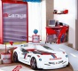 Detská posteľ auto SUPER DELUXE 90x195cm - biela