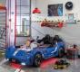 Detská posteľ auto EXCLUSIVE 100x190cm - modrá