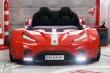 Detská posteľ auto EXCLUSIVE 100x190cm - červená