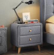 Nočný stolík Lorien - sivý