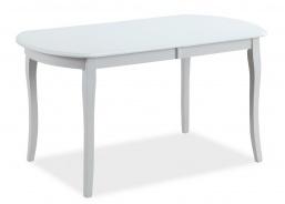 Jedálenský stôl rozkladací 140x80 ALICANTE - biely