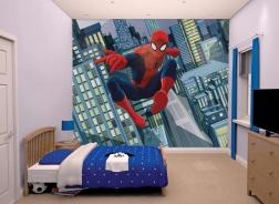 Dětská 3D tapeta na zeď Spiderman 2
