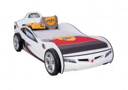 Detská posteľ auto SUPER 90x190cm - biela
