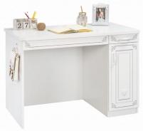 Študentský písací stôl Betty - biela