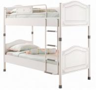 Detská poschodová posteľ Betty 90x200cm - biela