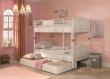 Detská poschodová posteľ Betty 90x200cm + zásuvka pod posteľ Betty