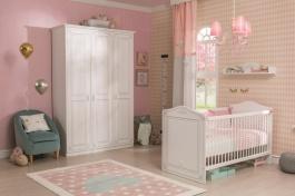 Detská izba pre bábätko Betty - biela