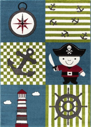 Detský kusový koberec Pirát 450 multi