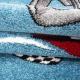 Detský kusový koberec Formule 460 Blue