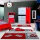 Detský kusový koberec Formule 460 Red