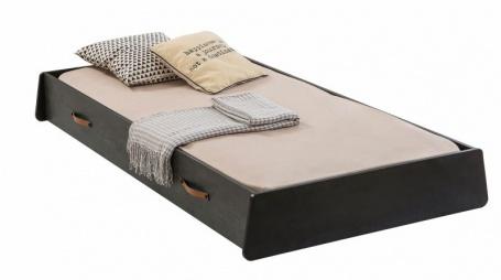 Zásuvka pod posteľ 90x190cm Nebula - čierna / sivá