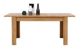 Rozkladací jedálenský stôl Sandy - dub granson