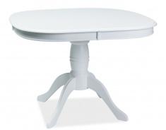 Jedálenský stôl FLORENCJA rozkladací - biely