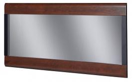 Zrkadlo VIEVIEN 80 - dub koňak / čierny mat
