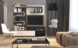 Kompaktný obývacia stena INTER