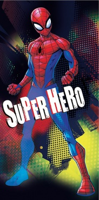 Dětská osuška Spiderman Hero