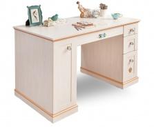 Písací stôl Lilian - breza