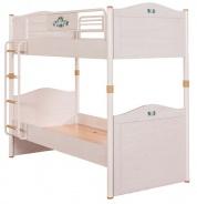 Detská poschodová posteľ Lilian 90x200cm - breza