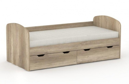 Detská posteľ REA Golem s 2 zásuvkami - dub canyon