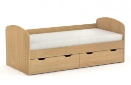 Detská posteľ REA Golem s 2 zásuvkami - buk
