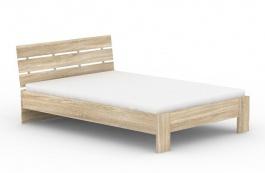 Moderná posteľ REA Nasťa 140x200cm - dub bardolino