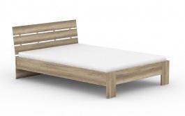 Moderná posteľ REA Nasťa 140x200cm - dub canyon