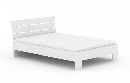 Moderná posteľ REA Nasťa 140x200cm - biela