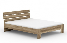 Manželská posteľ REA Nasťa 160x200cm - dub canyon