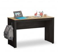 Jednoduchý písací stôl Sirius - dub čierny/dub zlatý