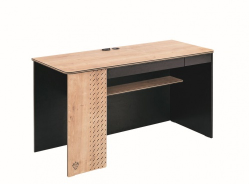 Veľký písací stôl Sirius - dub čierny/dub zlatý