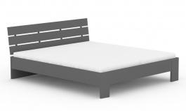 Manželská posteľ REA Nasťa 180x200cm - graphite