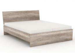 Manželská posteľ REA Oxana 180x200cm - dub canyon
