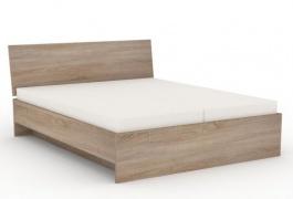 Manželská posteľ REA Oxana 180x200cm - dub bardolino