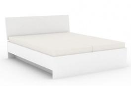 Manželská posteľ REA Oxana 180x200cm - biela